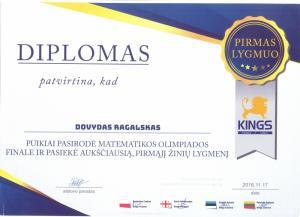 dovydo diplomas
